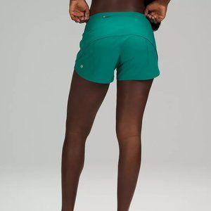 "NWT Lululemon Speed Up MR Shorts 4"" Tall - Sz4"